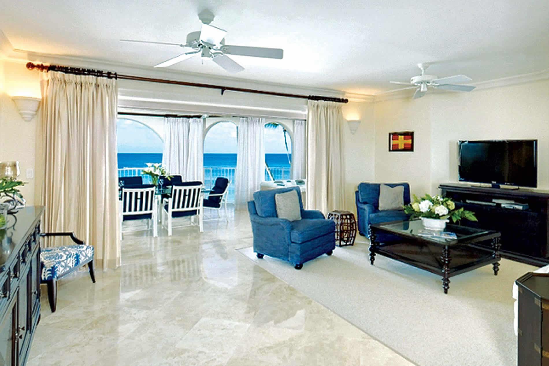Apartment Sea View II in Saint Peter's Bay - sleeps 4 people