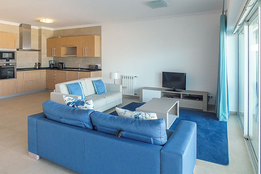 Apartment Vila da Praia II in Praia D'el Rey Golf & Beach Resort, Silver Coast - sleeps 4 people