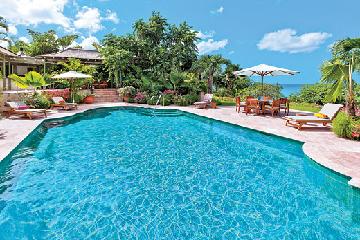 Blue Horizon in Royal Westmoreland - sleeps 6 people