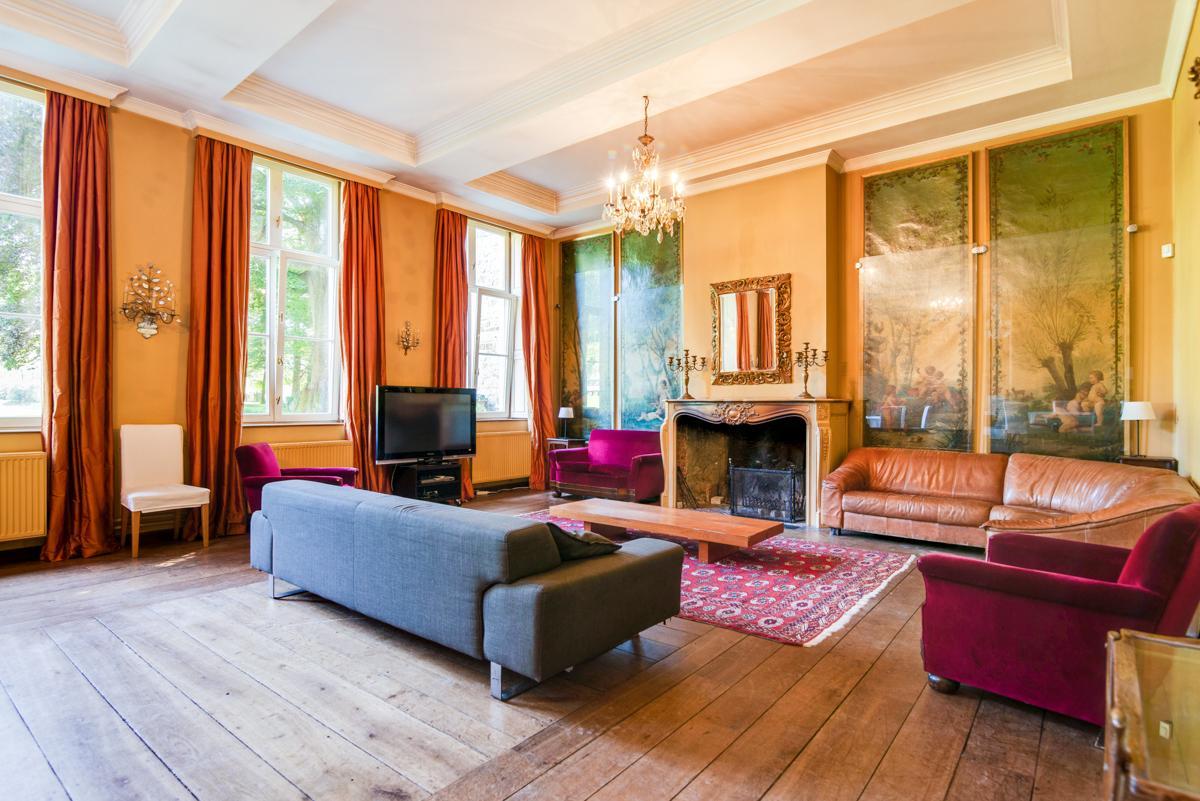 Chateau Alois in Belgium - sleeps 35 people