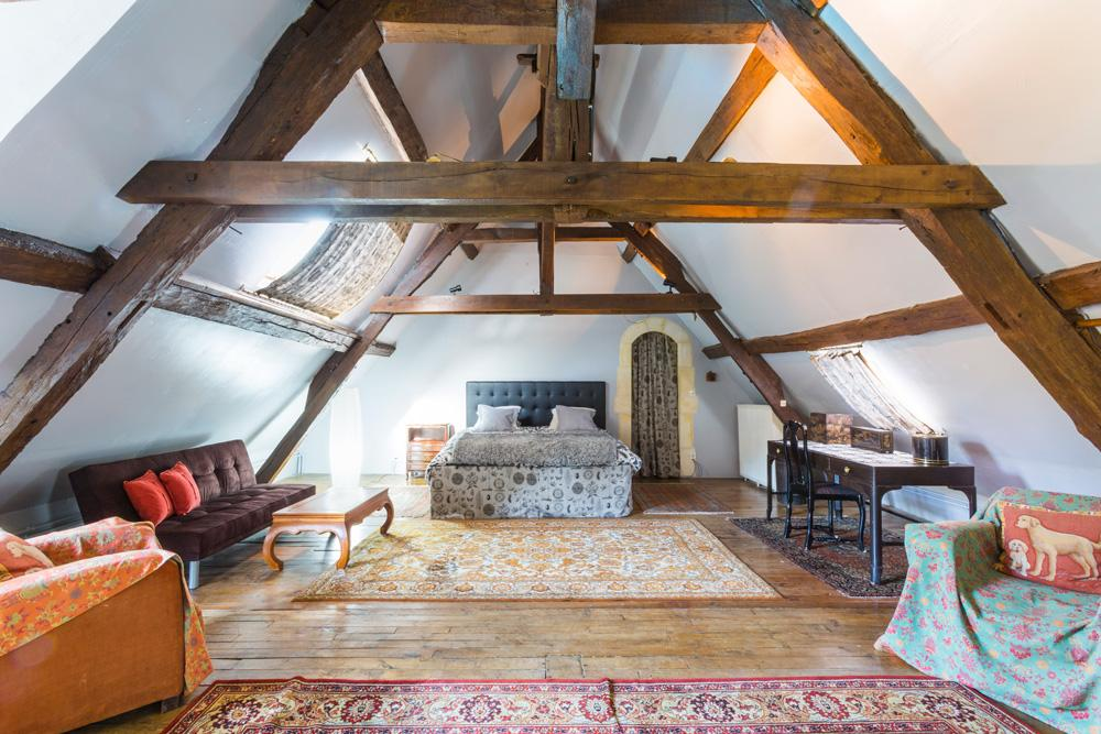 Chateau Le Brun in Loire Valley - sleeps 12 people