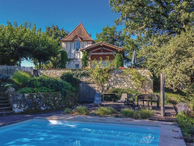 Chateau Marcoux in Beauville, Dordogne and Lot - sleeps 11 people