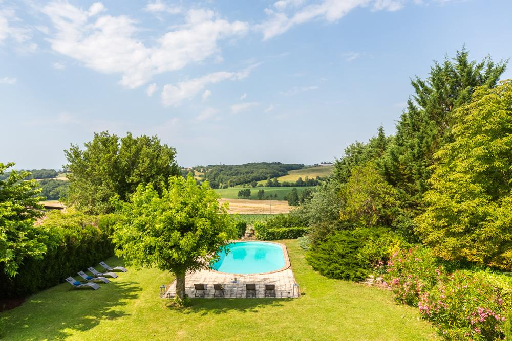 Chateau Seyches in Aquitaine - sleeps 12 people