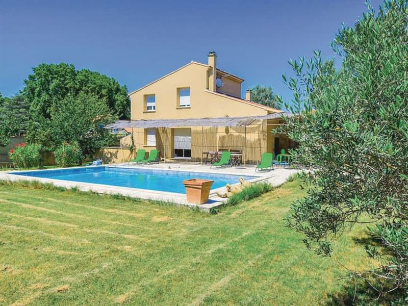 Cottage du Jardin in Loriol-du-Comtat, Provence - sleeps 6 people