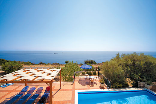 Dinos in Skala, Kefalonia - sleeps 6 people