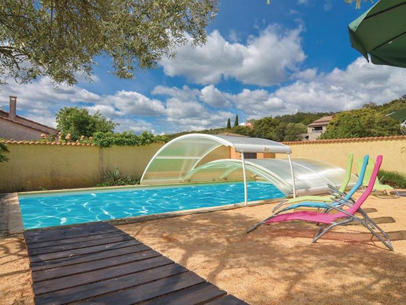 La Maison Jaune in Saint-Julien-les-Rosiers, Alès, Languedoc-Roussillon - sleeps 12 people