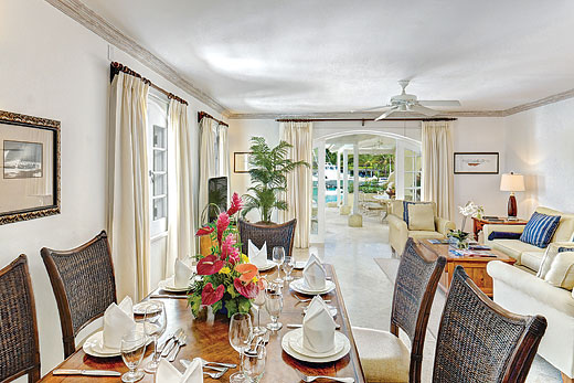 Lagoon Front Villa III in Port St. Charles, Speightstown - sleeps 6 people