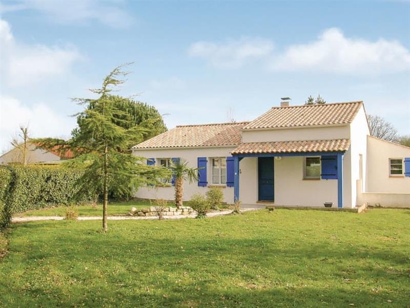Le Cottage du Jardin in Saint-Maixent-sur-Vie, Vendée - sleeps 7 people