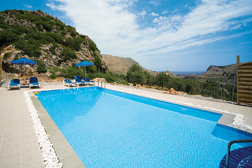 Odysseus in Tsambika, Rhodes - sleeps 6 people