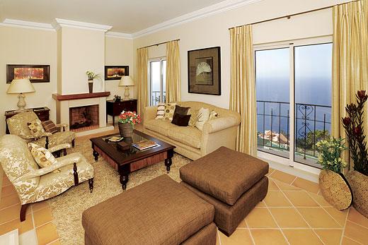 Palheiro Garden Villa in Palheiro Golf Resort, Madeira - sleeps 6 people