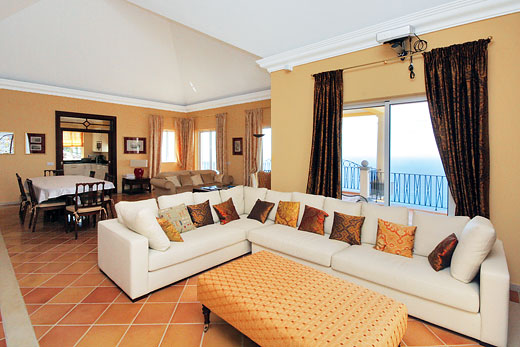 Palheiro Sea Villa in Palheiro Golf Resort, Madeira - sleeps 6 people