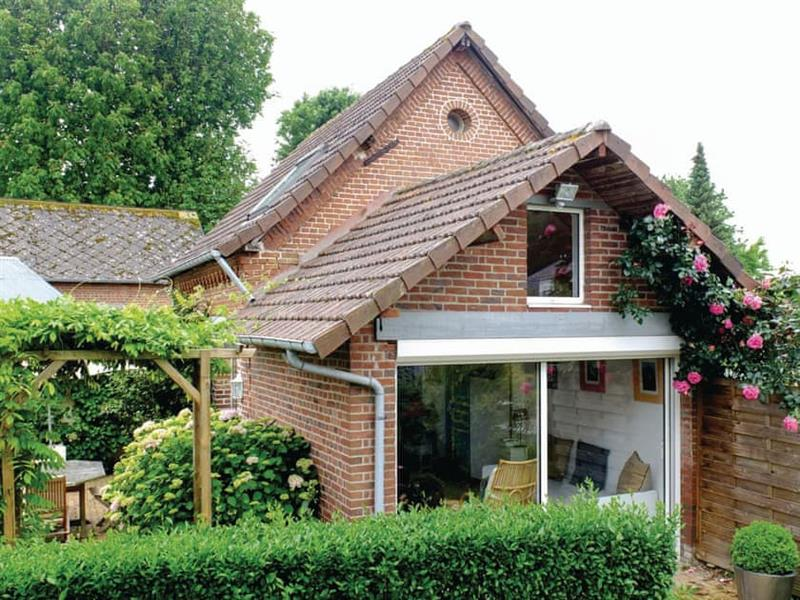 Petite Maison Fleurie in Luneray, Normandy - sleeps 2 people