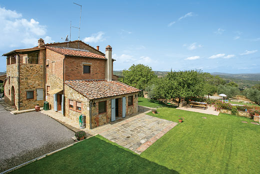 Poggio Etrusco in Sinalunga, Tuscany - sleeps 5 people