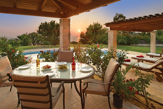 Villa Aeolus in Spartia Beach - sleeps 6 people