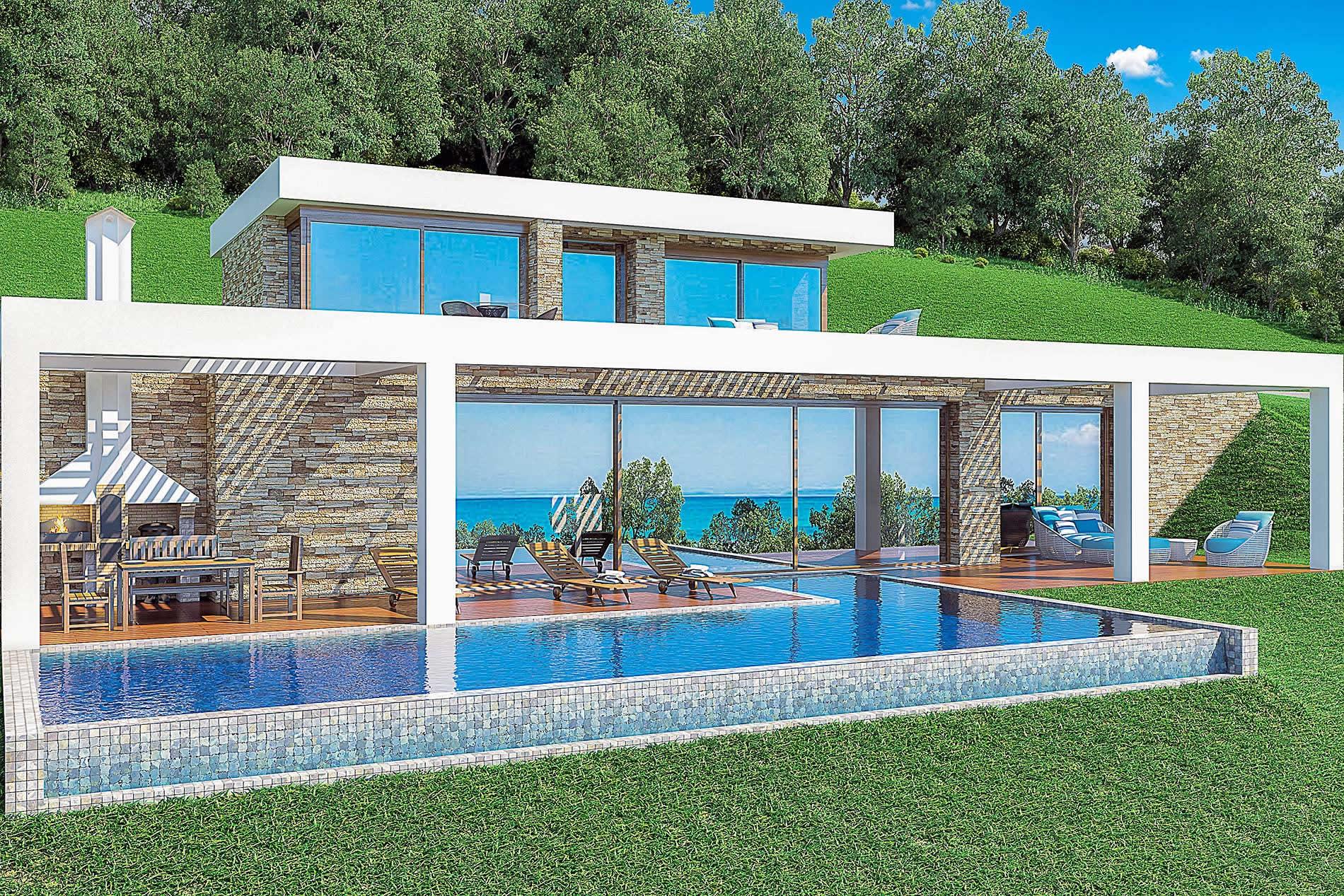 Villa Alkyonides I in Keri - sleeps 8 people
