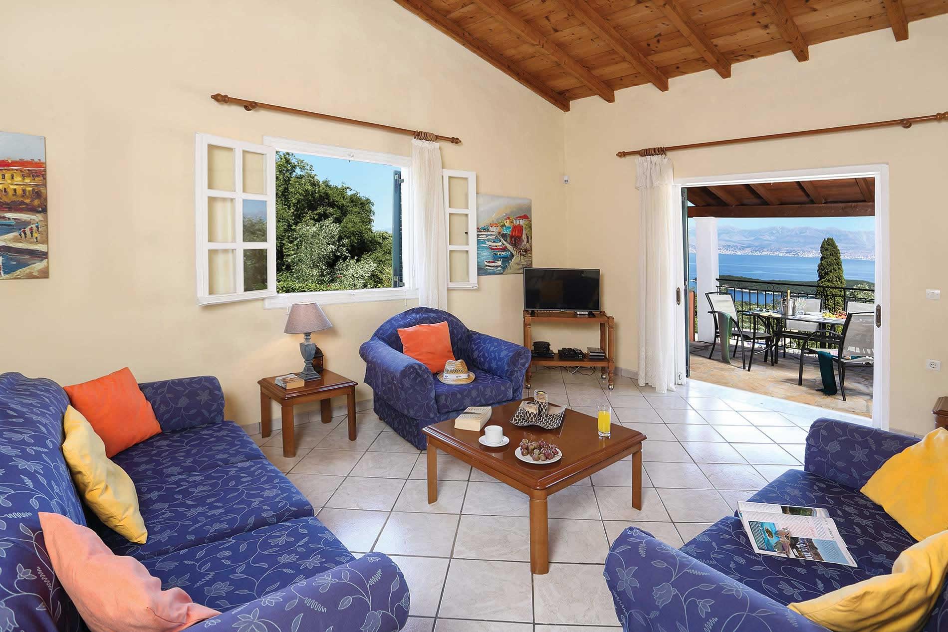 Villa Anatoli in St. Stefanos - sleeps 6 people