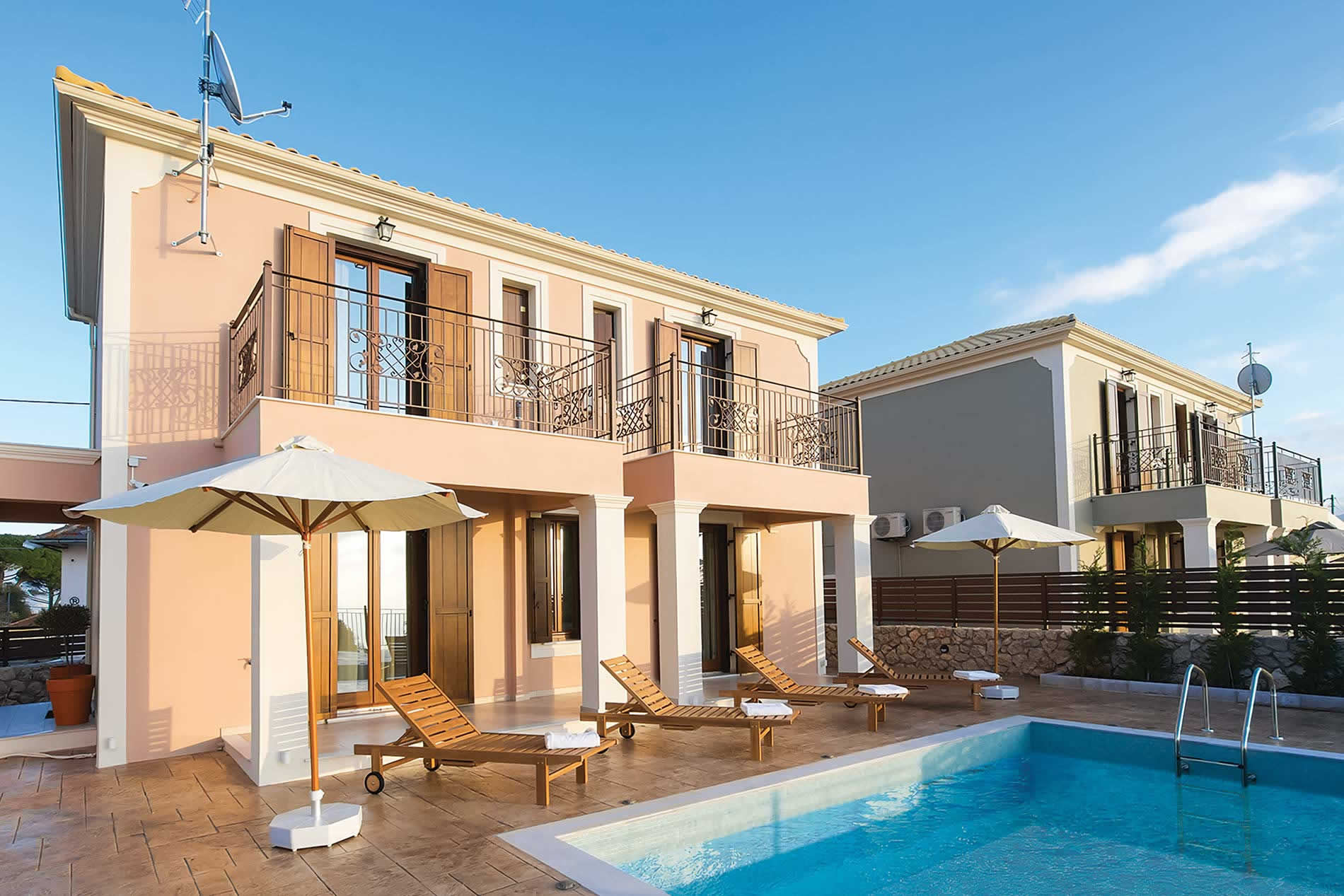Villa Anesis in Fiskardo - sleeps 6 people