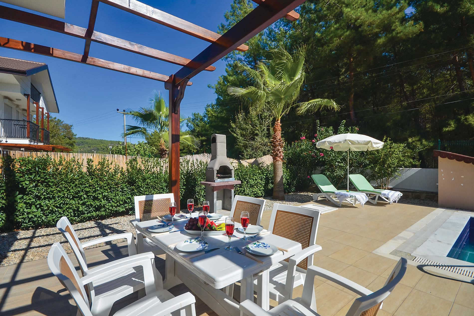 Villa Badem in Ovacik - sleeps 8 people