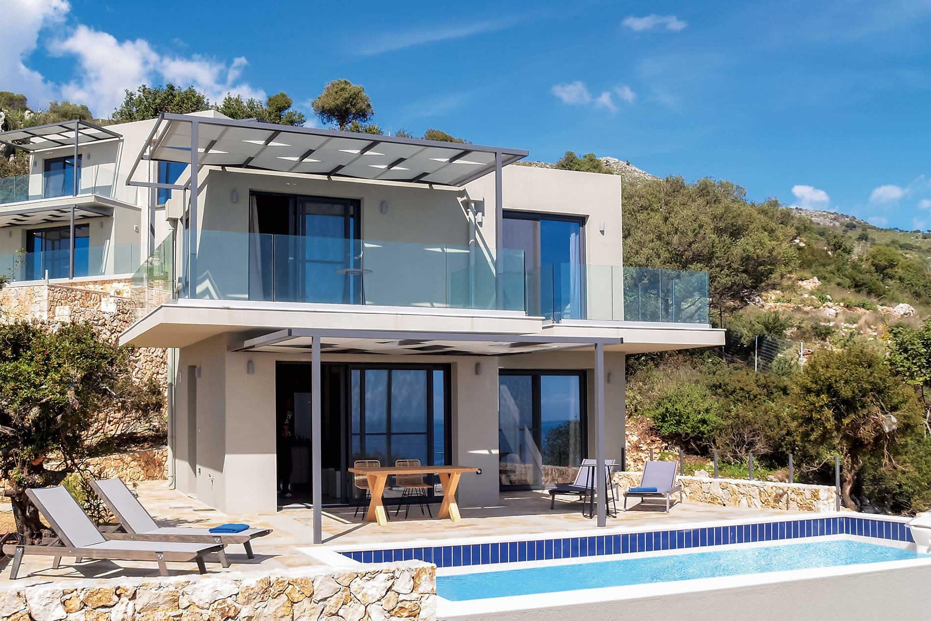 Villa Blue Sea in Skala - sleeps 4 people