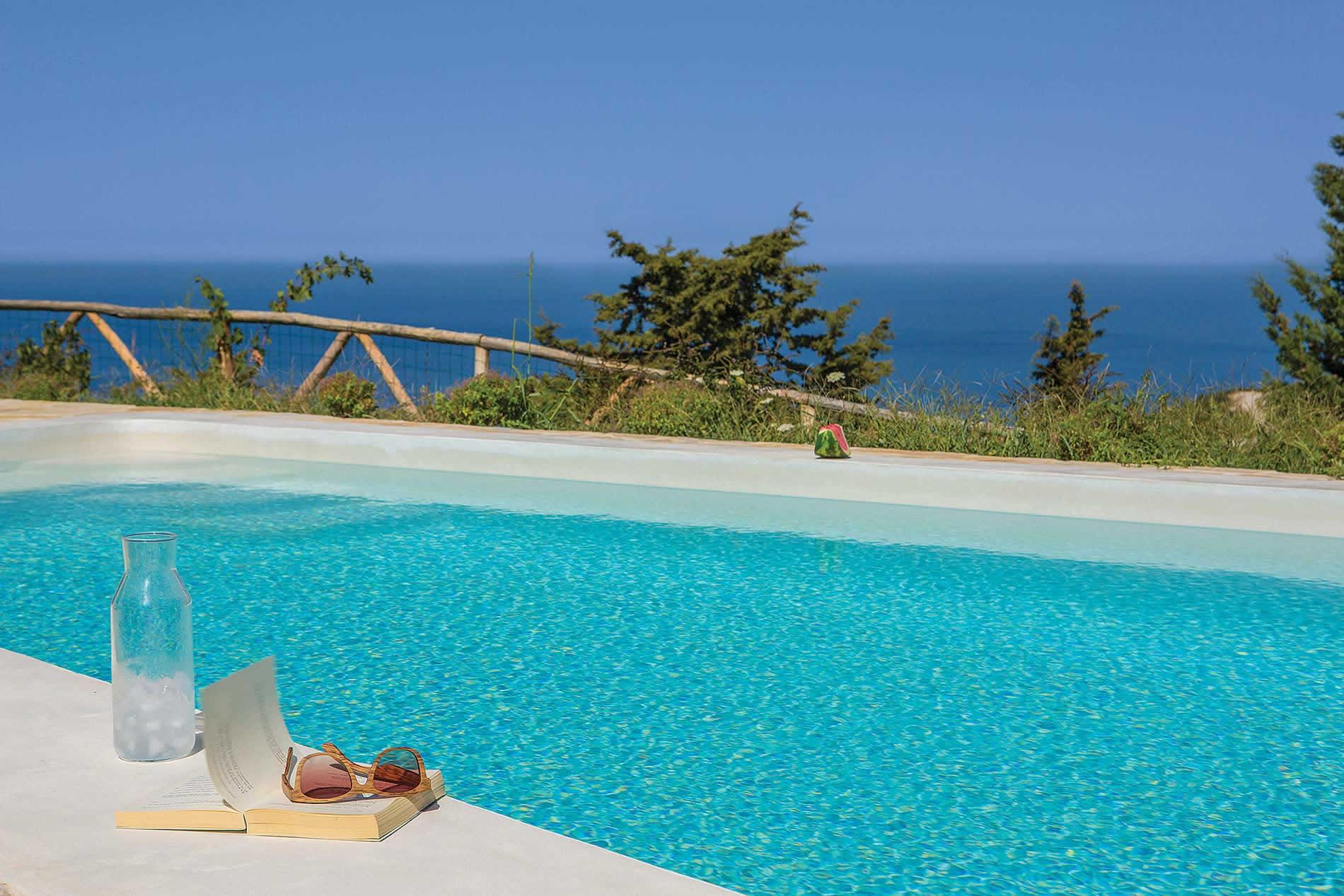 Villa Blue Turquoise in Tsoukalades - sleeps 6 people