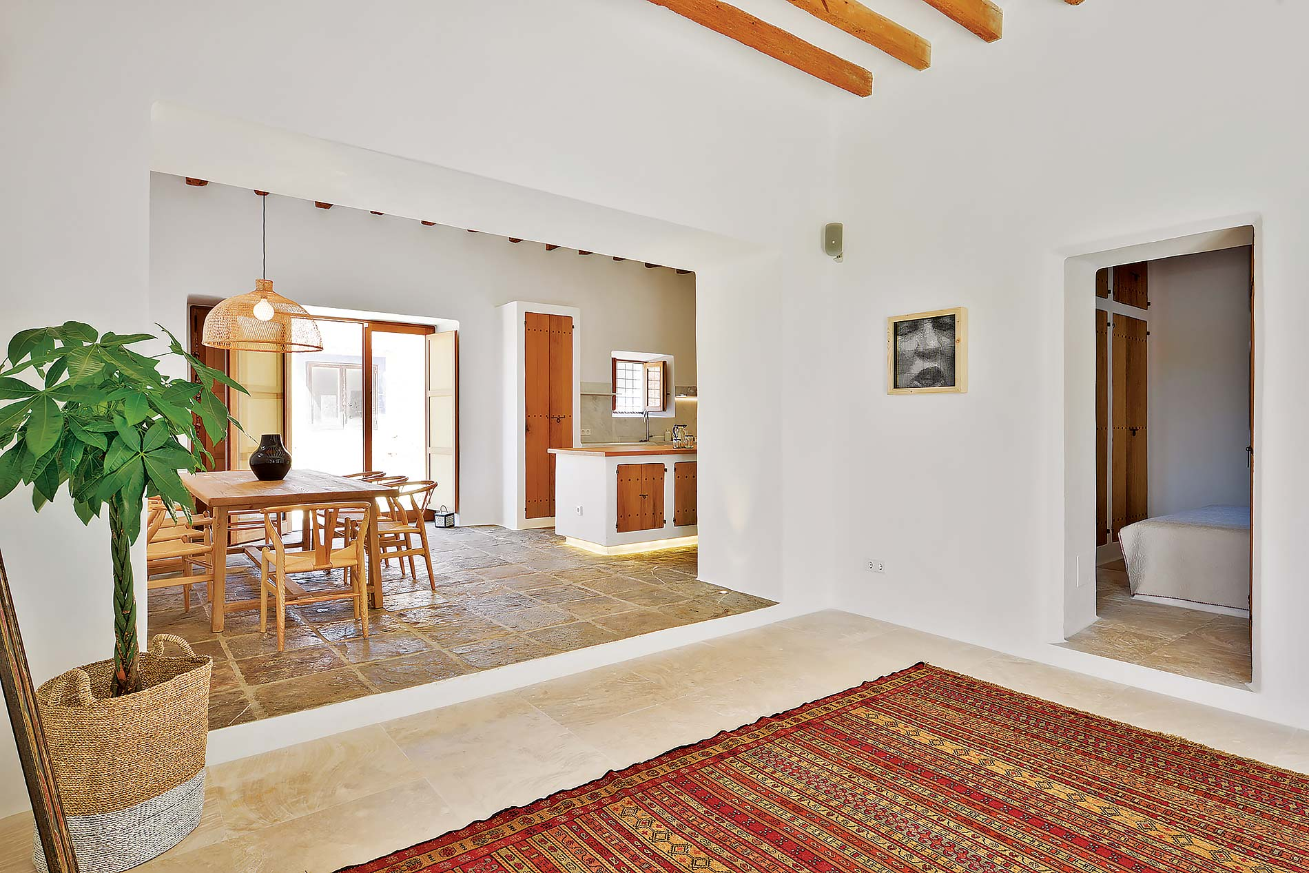 Villa Can Pep Pol in Santa Eulalia - sleeps 8 people