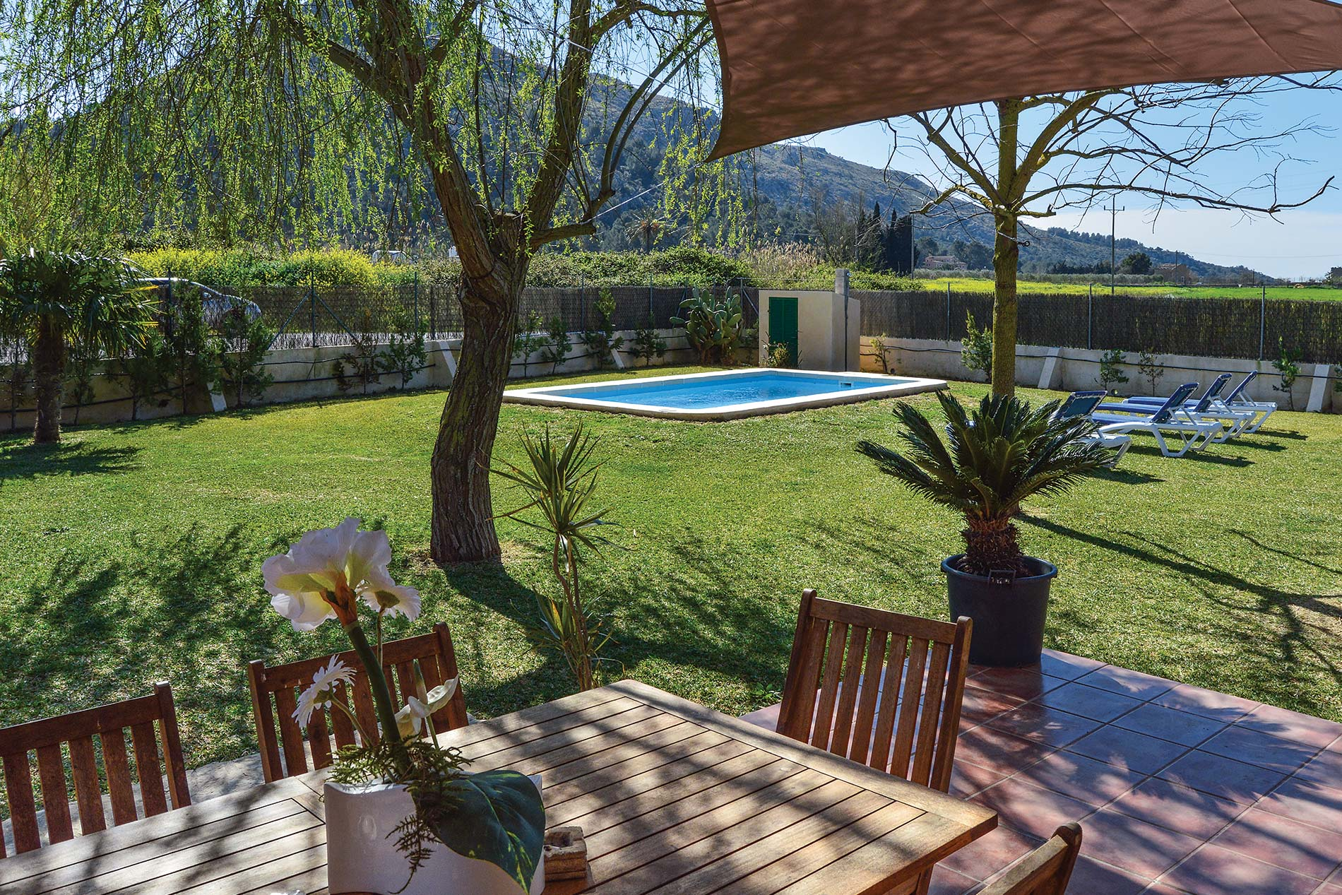 Villa Can Segue in Alcudia - sleeps 4 people