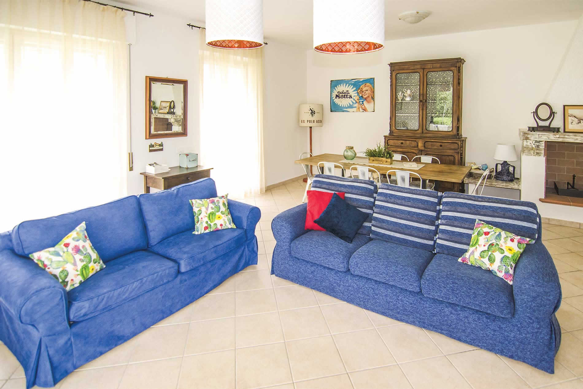 Villa Casa Pitorina in Camaiore - sleeps 6 people