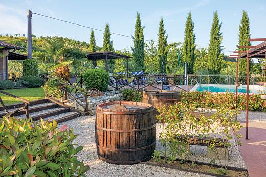 Villa Chiara in Marsciano - sleeps 6 people