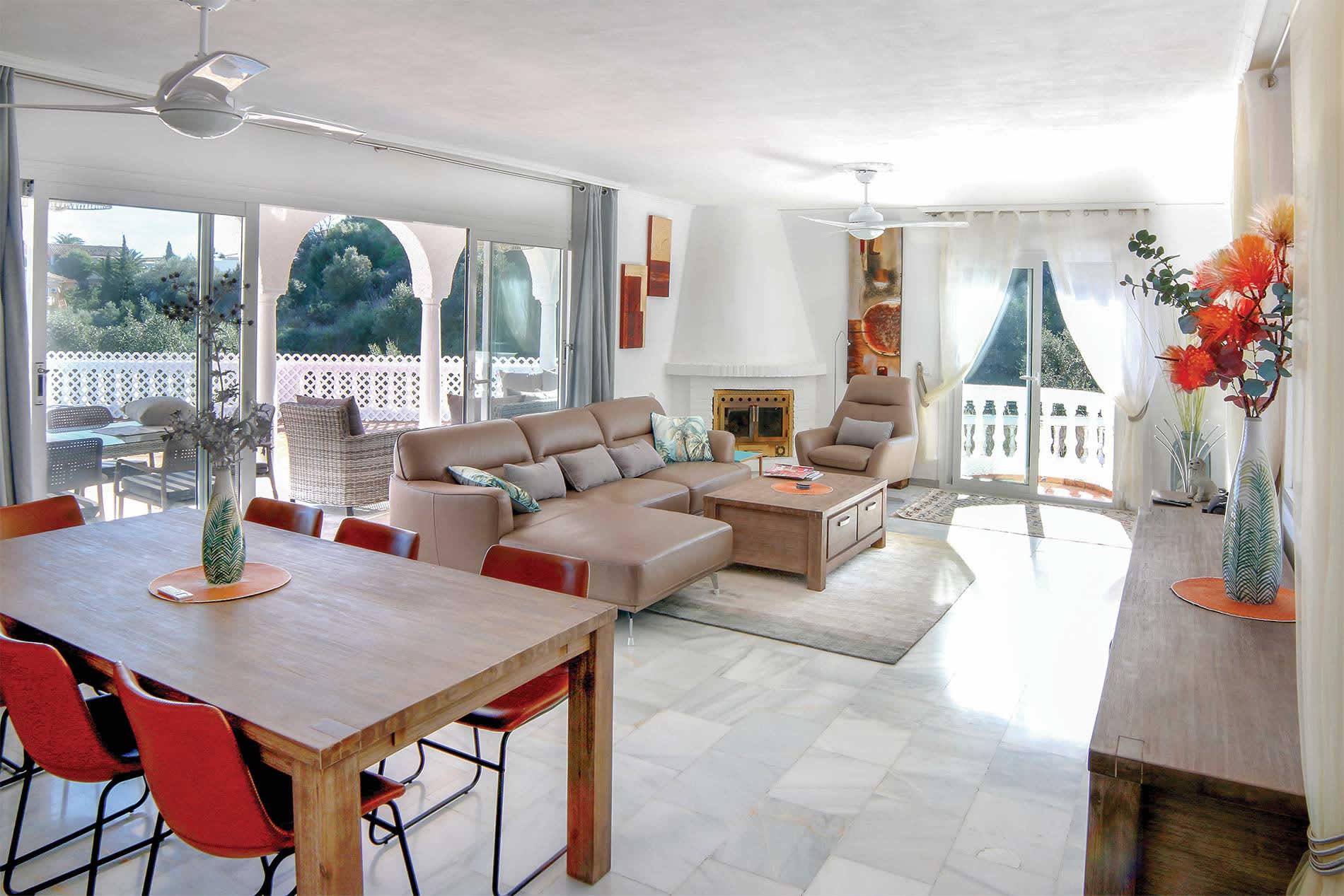 Villa Chimango in Fuengirola - sleeps 6 people
