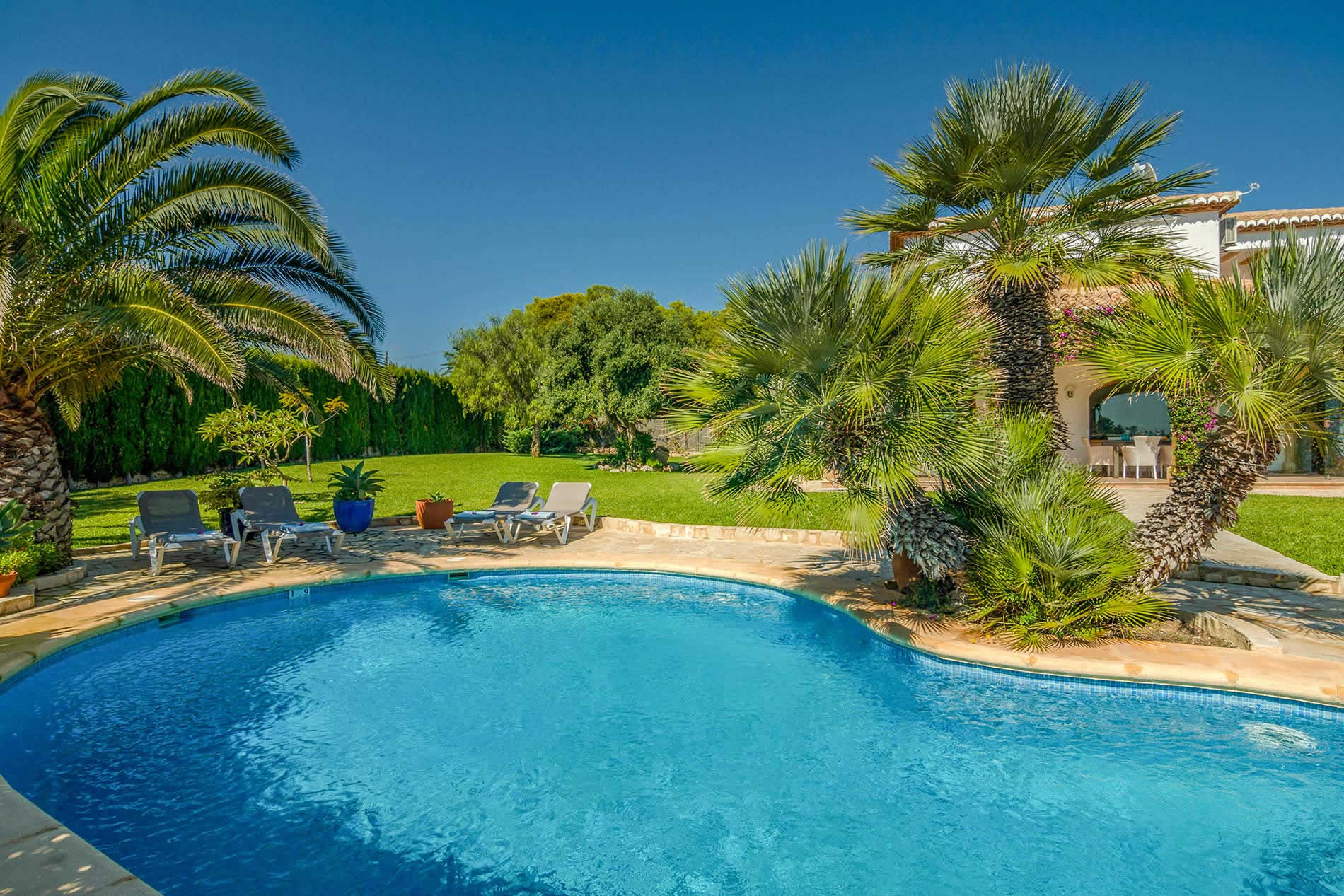 Villa Cielo in Javea - sleeps 8 people