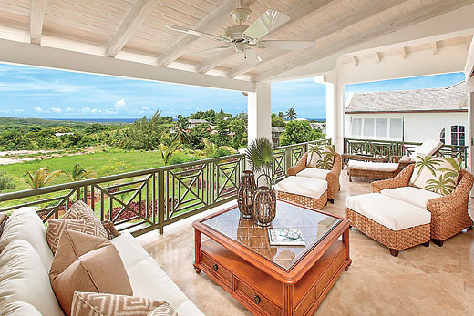 Villa Coral Blu in Royal Westmoreland - sleeps 6 people