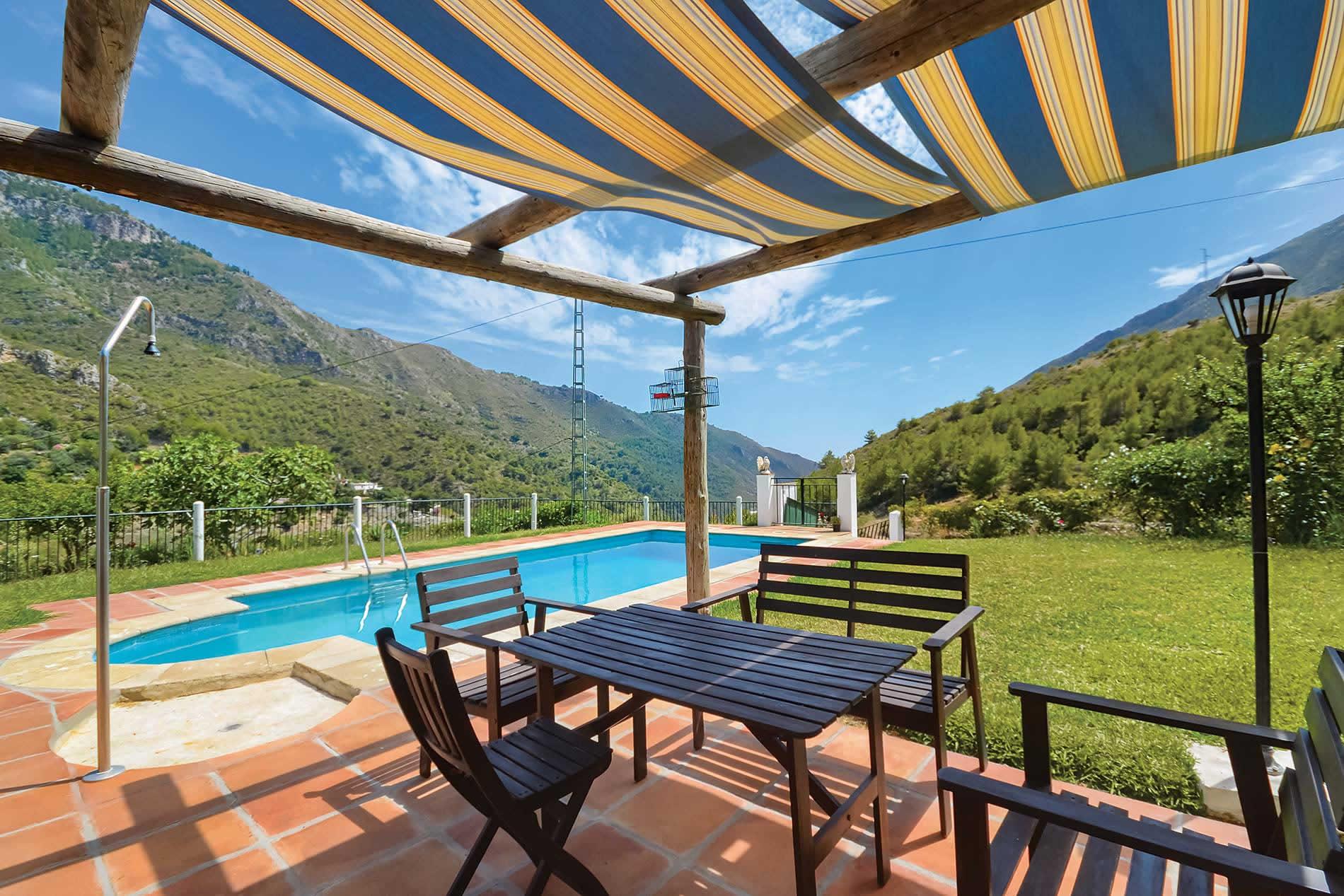 Villa Cortijo Mari Carmen in Nerja - sleeps 6 people