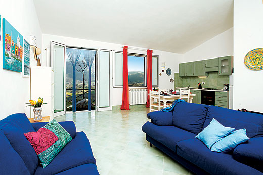 Villa Delfino in Scopello, Sicily - sleeps 4 people