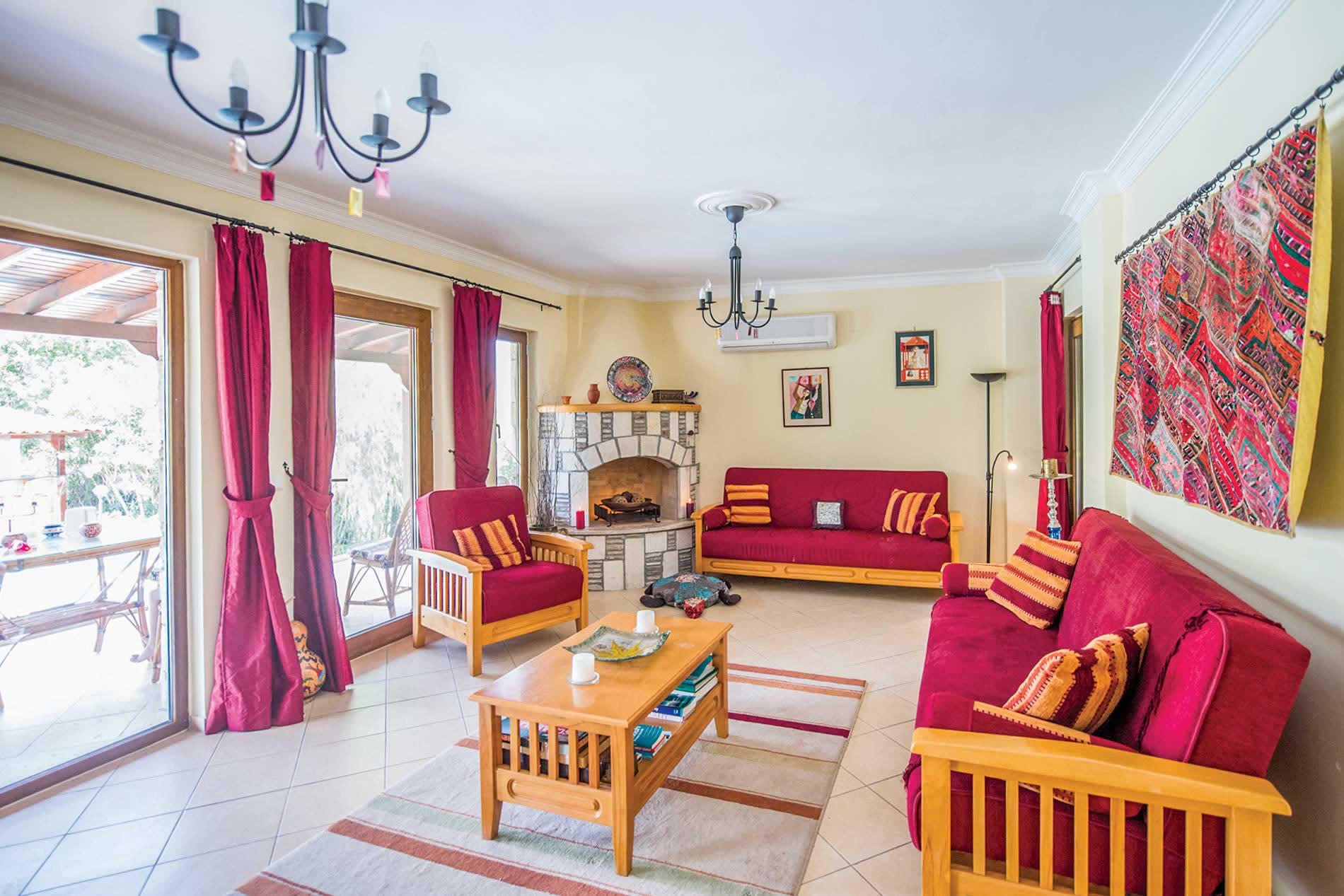Villa D'Louca in Dalyan - sleeps 6 people