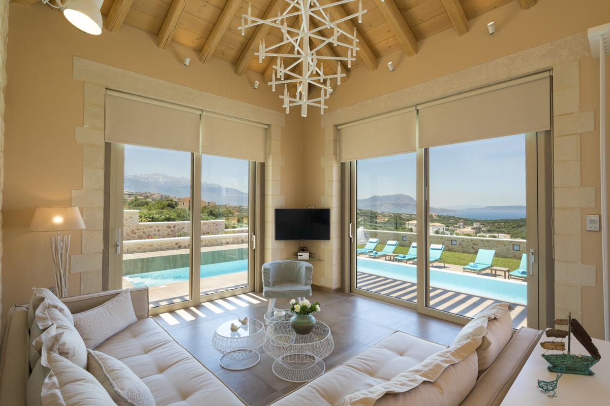 Villa Elif in Crete - sleeps 6 people
