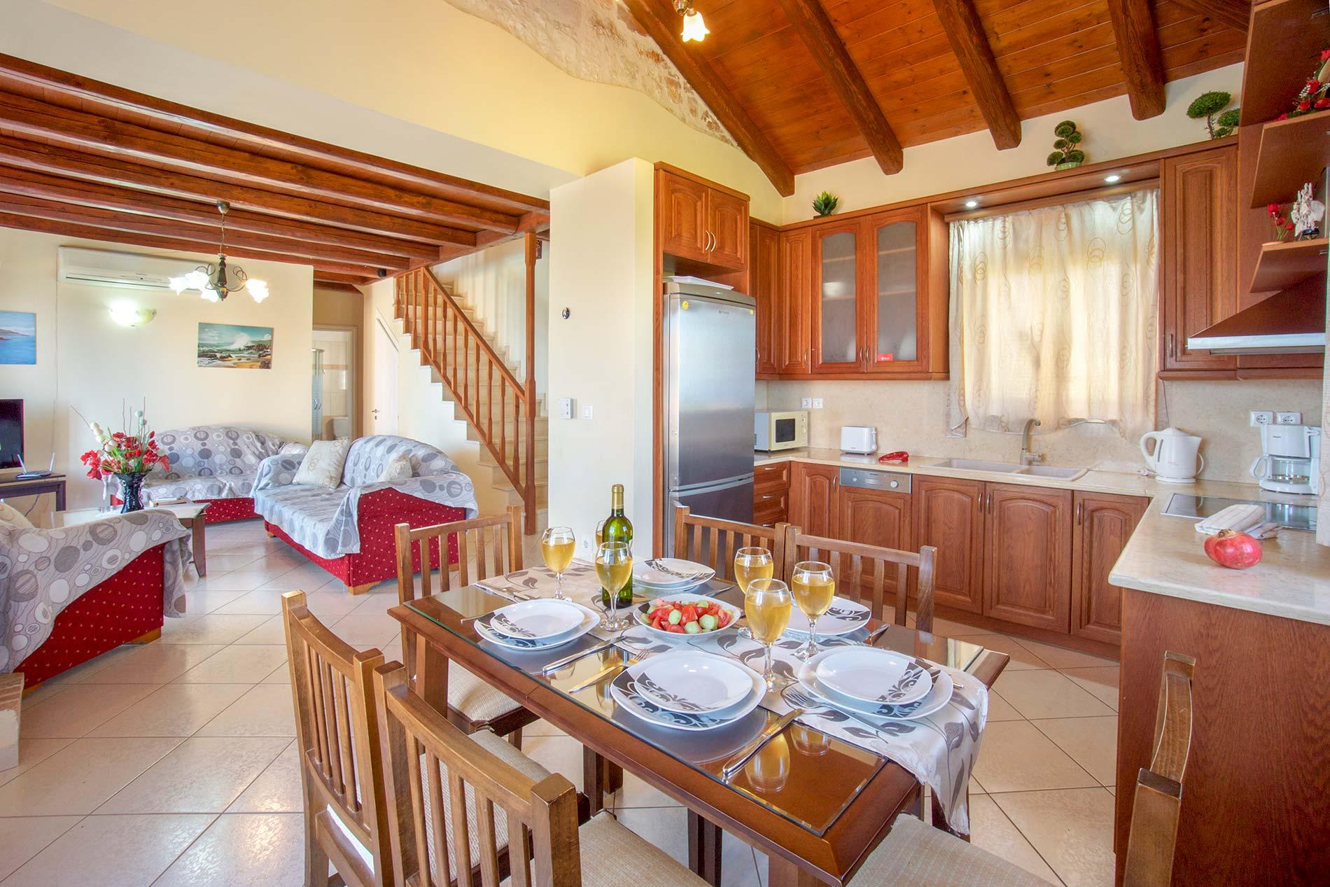 Villa Evanthia in Fiskardo - sleeps 6 people