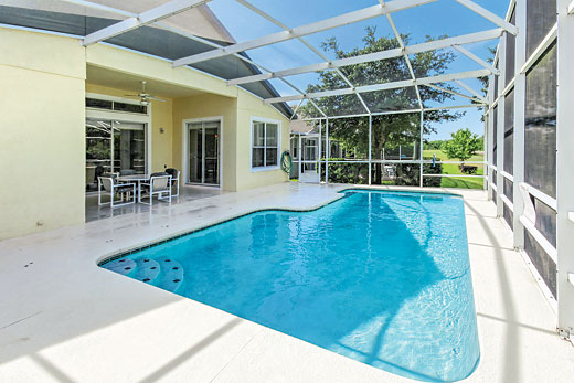 Villa Hampton Lodge Executive in Highlands Reserve, Disney Area and Kissimmee - sleeps 8 people