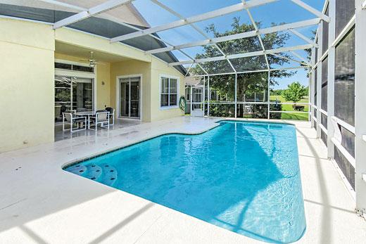 Villa Hampton Lodge Executive in Highlands Reserve, Disney Area and Kissimmee - sleeps 8 people