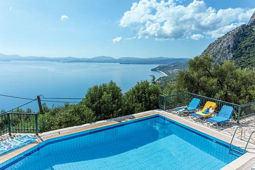 Villa Hellena in Nissaki - sleeps 8 people