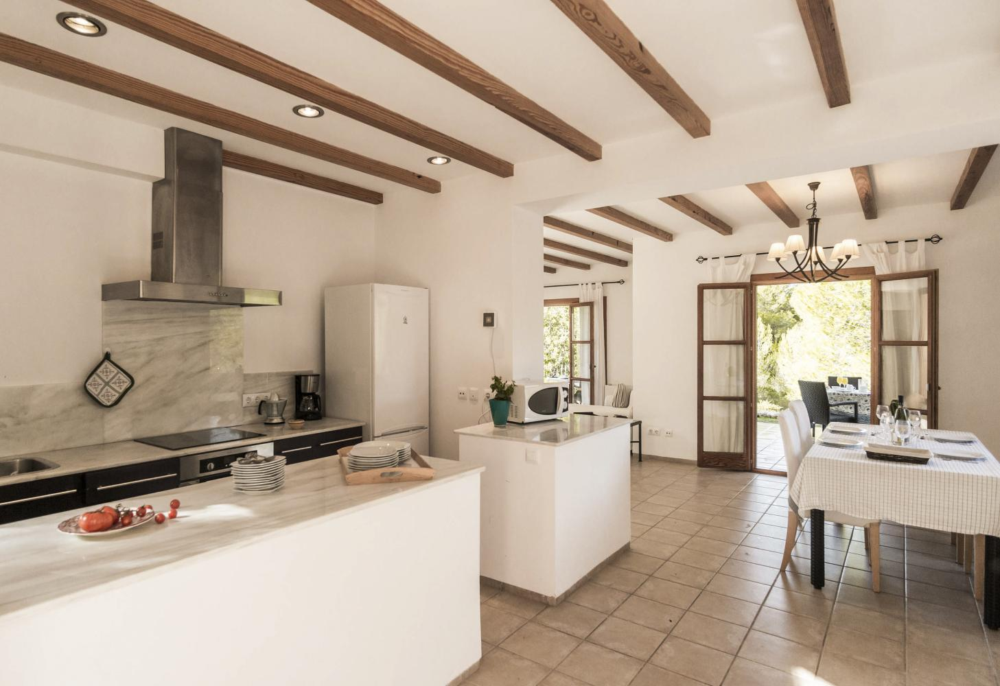 Villa Hortensia in Arta - sleeps 6 people