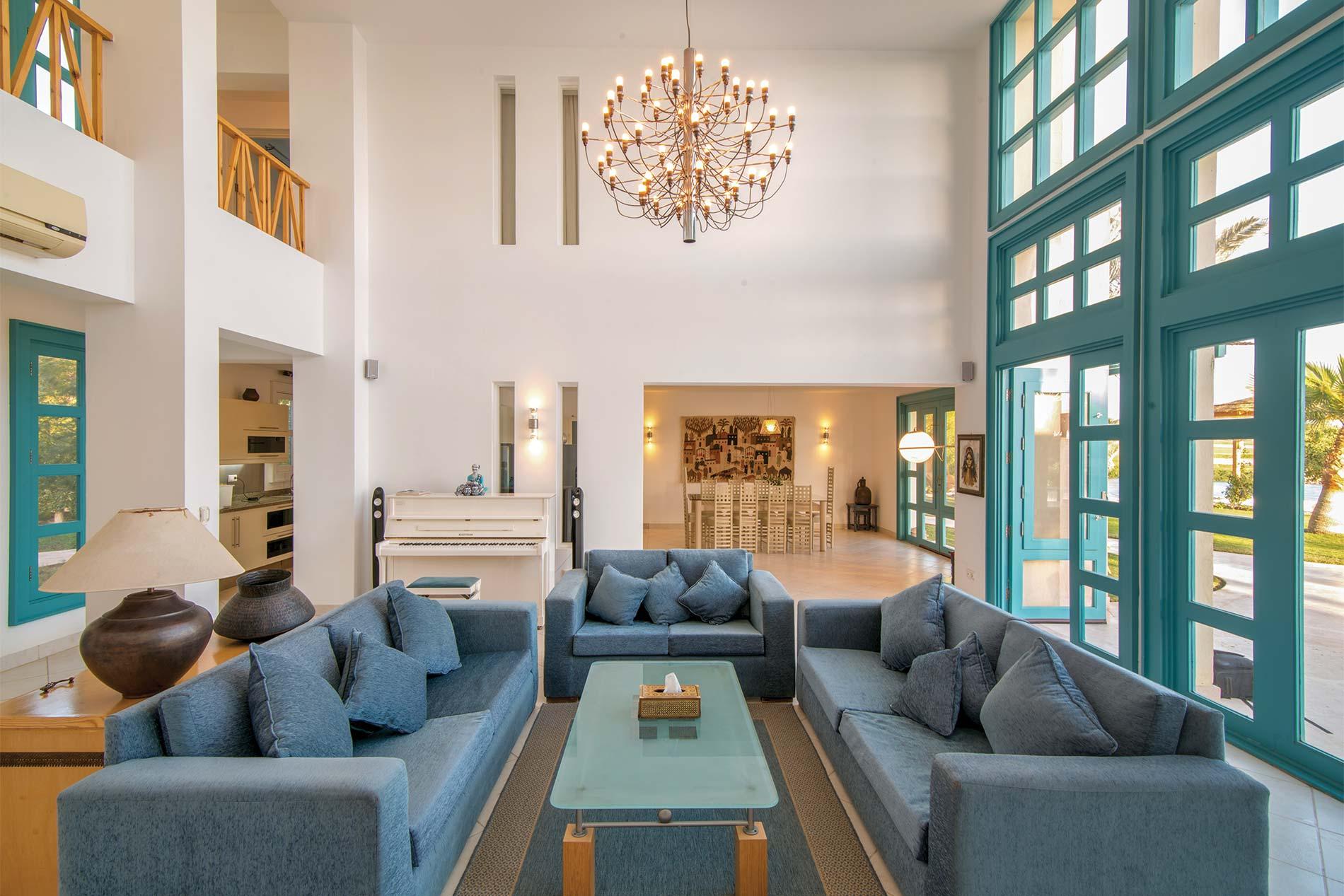 Villa Ibis Blue Lagoon in El Gouna Beach - sleeps 7 people