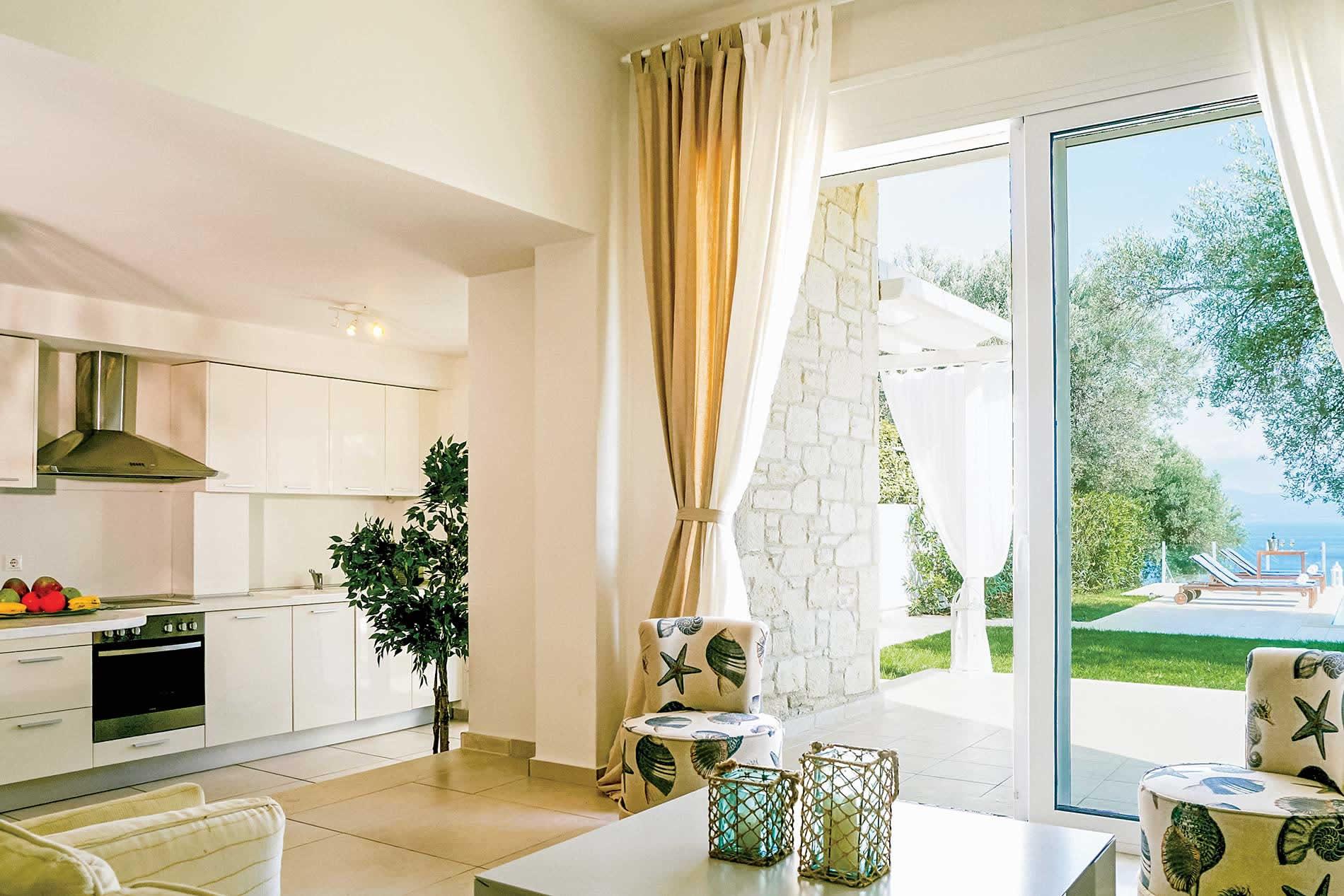 Villa Iliachtis in Paliouri - sleeps 6 people