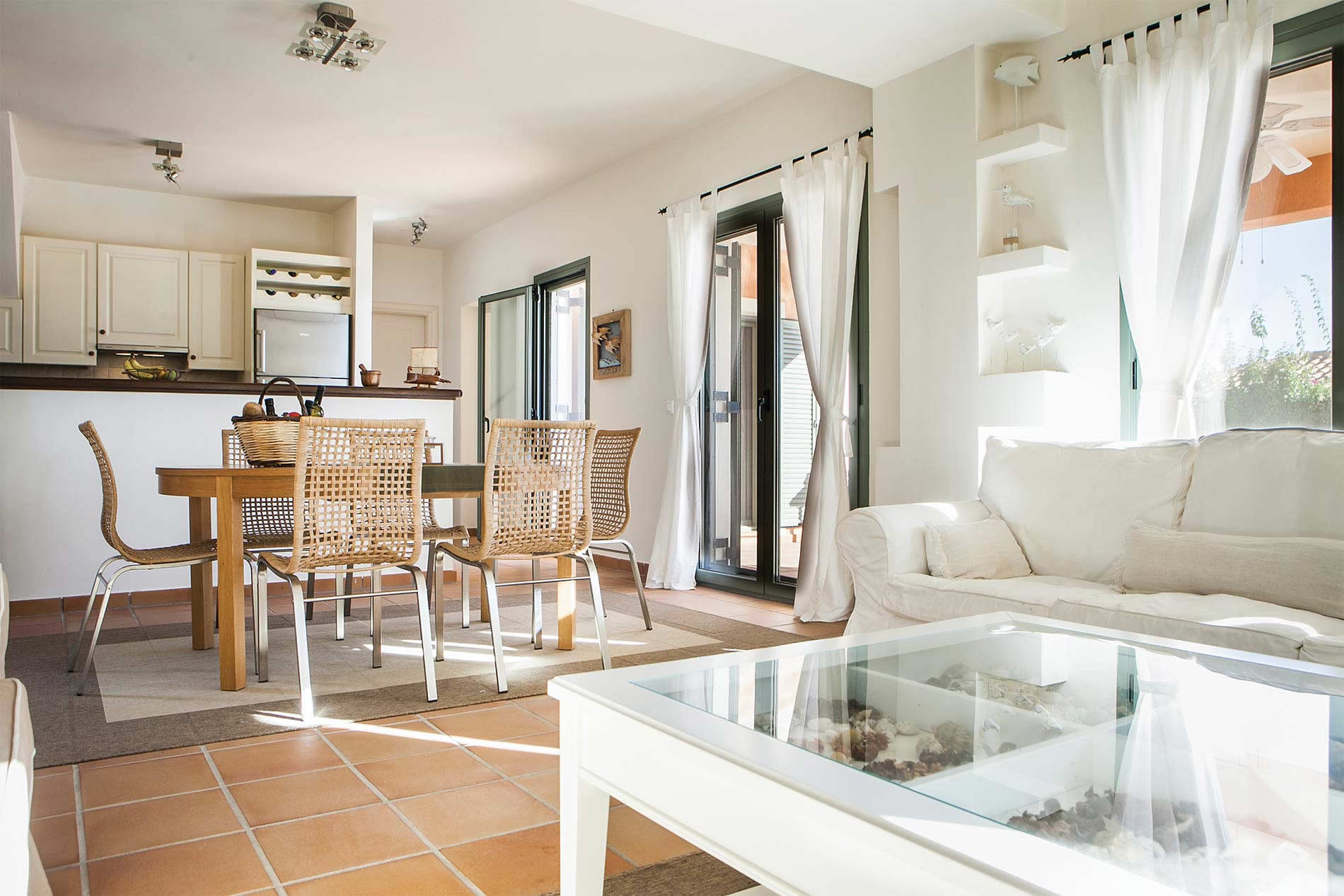 Villa Ionian Rose in Trapezaki - sleeps 6 people