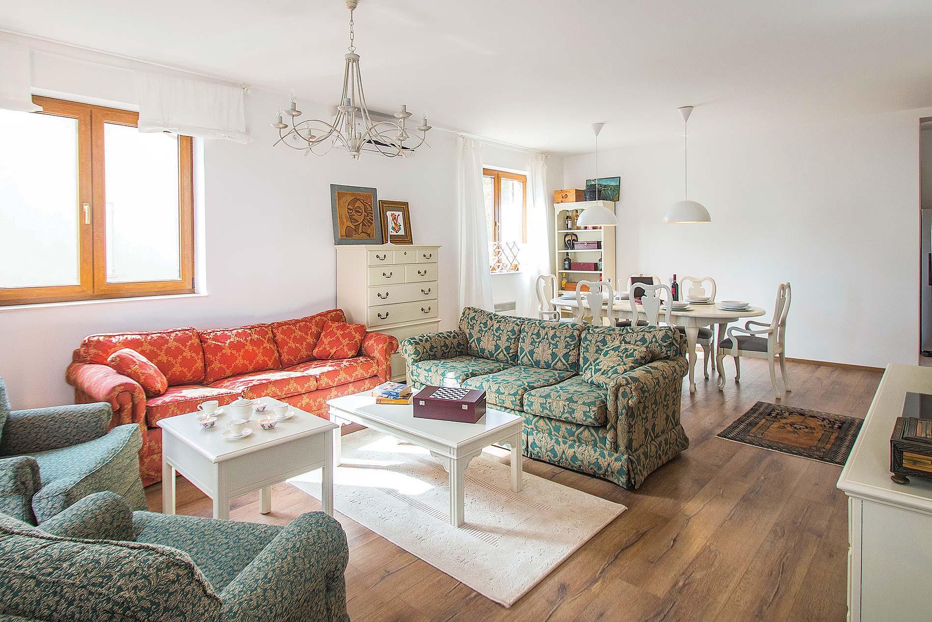 Villa La Beata in Labin - sleeps 10 people