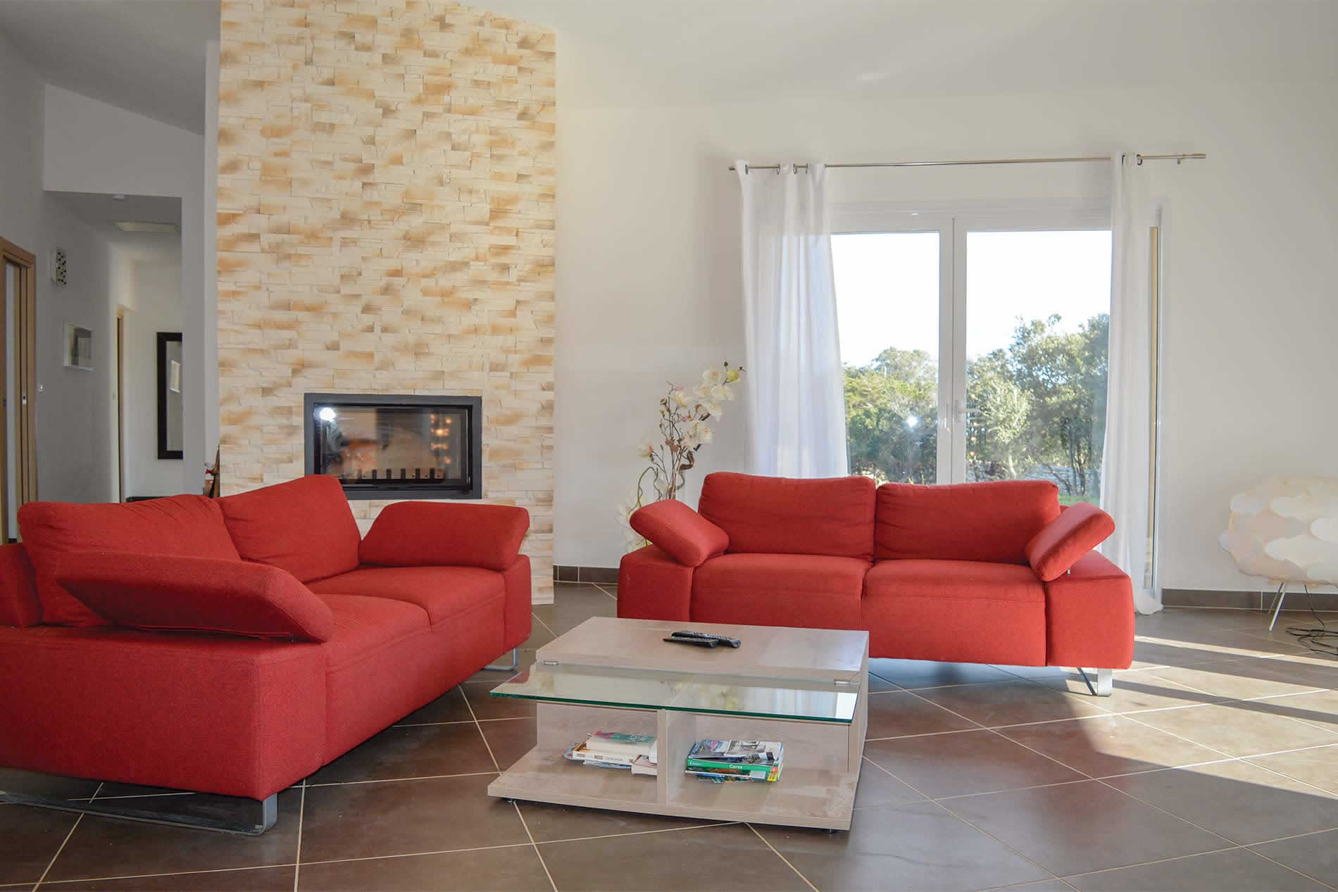 Villa La Canzona in Bonifacio - sleeps 8 people