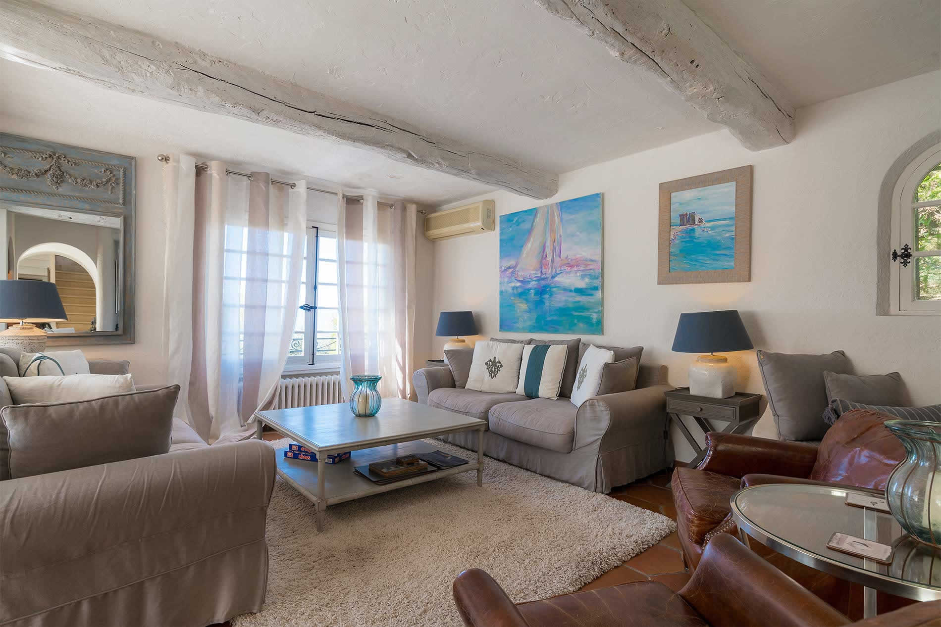 Villa Lerina in Cannes - sleeps 8 people
