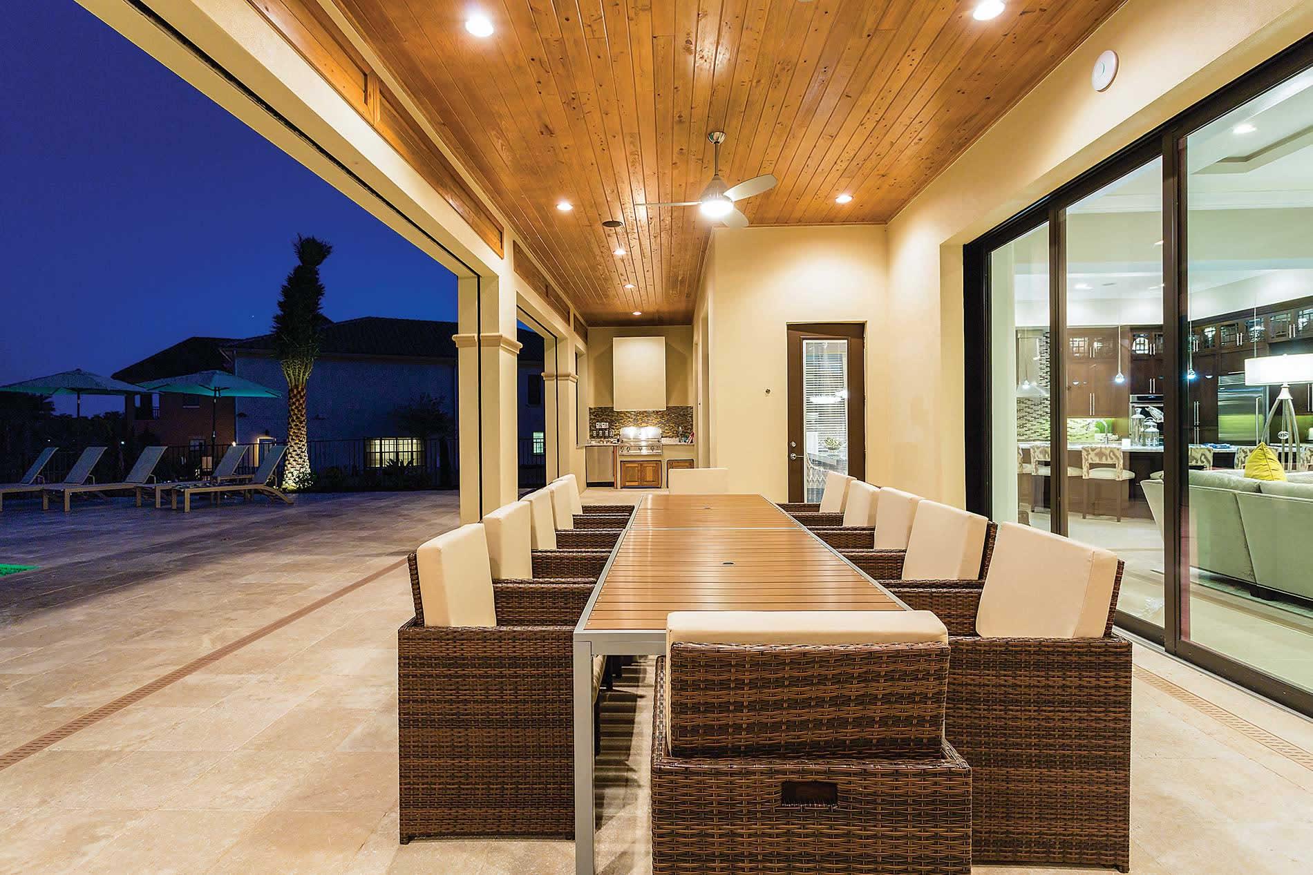 Villa Malitta Mansion in Reunion Resort - sleeps 16 people