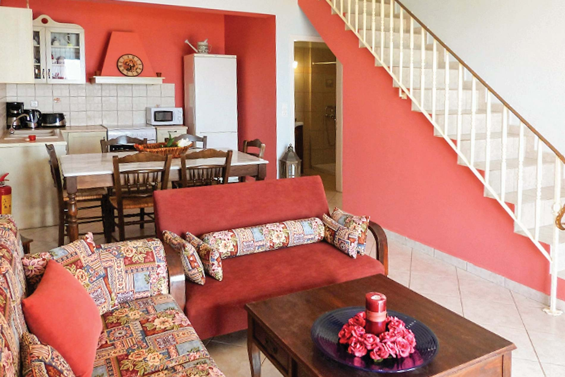 Villa Mariza in Trapezaki - sleeps 6 people
