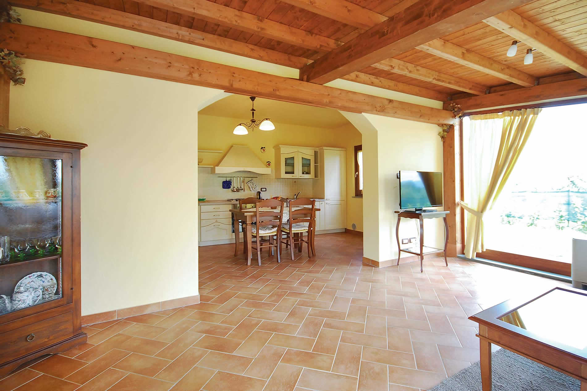 Villa Mirabella in Cortona - sleeps 6 people