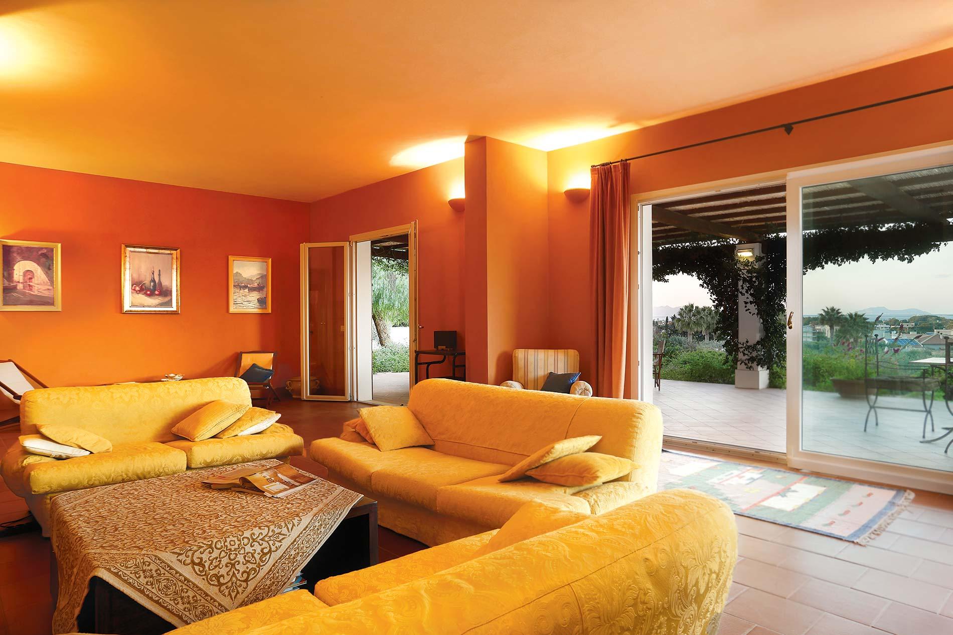 Villa Panorama in Marsala - sleeps 8 people